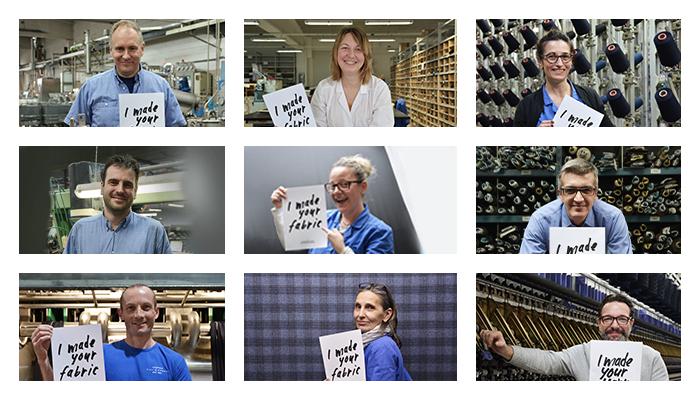 I dipendenti del Lanificio Cerruti per il progetto Fashion Revolution
